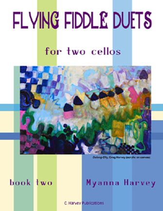 Flying Fiddle Duets for Two Cellos