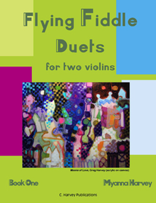 Flying Fiddle Duets for Two Violins