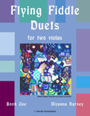 Flying Fiddle Duets for Two Violas, Book One