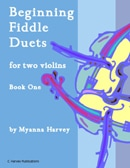 Beginning Fiddle Duets for Two Violins