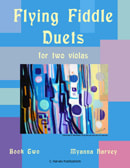 Flying Fiddle Duets for Two Violas, Book Two