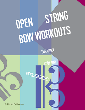 Open String Bow Workouts for Viola