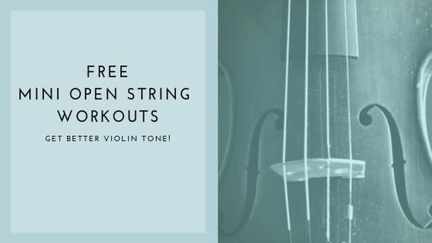 Free Violin Sheet Music: Open String Bowing Exercises!