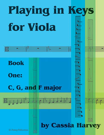 Playing in Keys for Viola, Book One: C, G, and F major