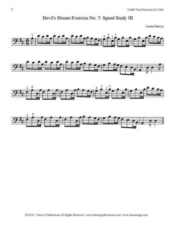 Devil's Dream Exercise for Cello No. 7 Harvey